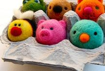 Needle Felting / Felting / by Petals to Picots Crochet