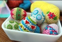 Crochet - Easter / Spring / by Petals to Picots Crochet