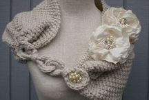 Crochet - Scarves, Wraps, & Neckwear / by Petals to Picots Crochet