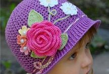Crochet - Hats & Ear Warmers / by Petals to Picots Crochet