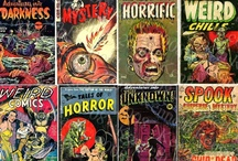 Classic Horror Comics / Classic Horror Comics covers and art / by Frank Forte