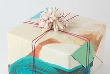 """gift wrapping, present and package / I love present wrapping! Here are some packages I like and that get me inspired. For more """"christmas specific"""" wrapping ideas, inspirations and freebies; check out my other board: http://pinterest.com/joseemm/xmas-stuff-to-get-me-inspired/"""