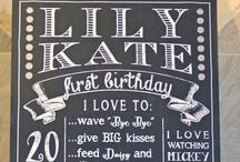 Leah's Birthday Ideas