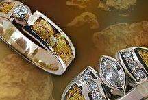 LAPLAND GOLD NUGGETS / Gold nugget jewelry. http://en.taigakoru.mycashflow.fi/category/61/rings