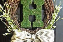 Wreath Ideas / by Becky Perks