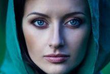 Faces / Goddess art inspiration / by Talyaa Liera