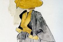 The 50s Fashion / I am a big lover of the elegant, feminine fashion of the 50s.  / by Nina Clausen