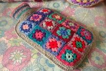 Crochet Granny Square / by Mary Jane Valentine