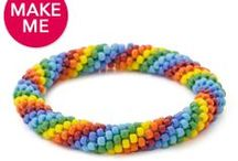 Swirly Whirly Rainbow! / by Fusion Beads