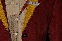 Upcycled Jackets & Blazers / Sartorial Alchemy ~ http://www.etsy.com/shop/sartorialalchemy / by MeTa MeLa
