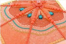 Cadmium Orange - Pantone Fall Color Trend 2015 / by Fusion Beads