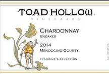 Toad Hollow Wine Labels / Toad Hollow Vineyards Wine Labels