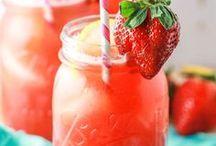 Drinks / Shake / Erfrischung / Säfte / Cocktails Smoothie
