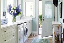 An Inspired Laundry Room