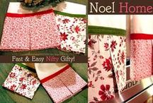 Sew4Home Noel Home Holiday Sewing / by Sew4Home