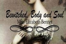 Bewitched, Body and Soul / Elizabeth always prided herself on his ability to discern the motives of others. She declared Mr. Bingley a fool were he not able to see how much her eldest sister Jane loved him. Determined to discover the true reason for Bingley's hasty departure from Netherfield, Elizabeth goes to town in Jane's stead. Her initial scheme having been thwarted and with nowhere else to go, she turns to the one person who is sure to put her in Bingley's path--Mr. Darcy.