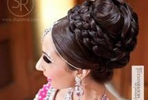 Hair / south asian wedding and engagement inspiration