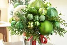 Christmas Crafts / Ideas to Spruce Up Our Home For The Holidays!