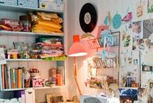 Craft Room Inspiration! / Its so exciting starting with a blank canvas!