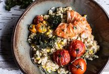 SEAFOOD / Healthy recipes for fish and shellfish.
