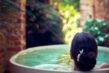Indoor-Outdoor Spa Sanctuaries / Urban Gardens/Mr. Steam Spa Sanctuary
