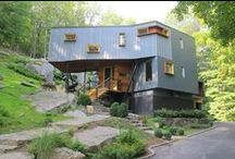 Shipping Containers / Up-cycled reused shipping containers for homes, shopping malls and businesses