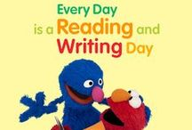 Sesame Street: Literacy / Resources from Sesame Street to promote early childhood literacy.   www.sesamestreet.org/Literacy / by Sesame Street