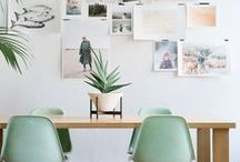 Office / Studio / home office and studio inspiration, office space, inspiring work space or desk
