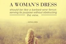 Fashion Quotes / Inspirational quotes about fashion