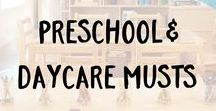 Preschool and Daycare Musts / Whether an in-home daycare, a bustling preschool, or anything in between, ECR4Kids offers furniture, toys, and accessories that are durable, safe, and fun! Inspire toddlers to learn and grow with ECR4Kids.