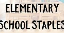 Elementary School Staples / Make elementary school exciting with ECR4Kids! From tables and chairs, to art supplies and active play, ECR4Kids products are durable, safe, and fun.