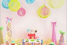 PARTY Ideas & Inspiration / Fun party ideas, party themes, DIY party decorations, birthday ideas, and games!