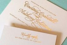 Deborah Nadel Design / Calligraphy and Invitations / by Deborah Nadel Design