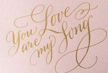 Calligraphy / by Deborah Nadel Design