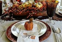 HOLIDAYS: Thanksgiving / Thanksgiving ideas and DIY for crafts, decorations, gifts, party plans, dinner food and treats!