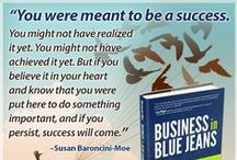 Business in Blue Jeans / Business, Small business, entrepreneur, entrepreneurship, starting a business from home, running a business from home, home-based business, work at home, WAHM