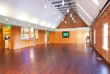 Our Venue / Our event space as it looks with in-house linens, centerpieces, etc. #ChapelHill #wedding #venue