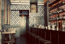 Cocktail Bars / Bar interiors from arond the world