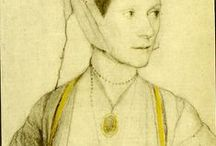 grey lady* / reference materials for Lady Glamis [Janet Douglas] 1530's
