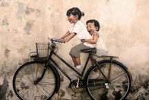 I Want to Ride My Bicycle / Riding bikes in Art and Photography / by Debra Canale