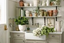 Mudrooms ❀ Flower Rooms ❀ Laundry Rooms  / by Linda L. Floyd Interior Design
