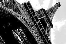 L / Tour Eiffel graphique / Graphisme et perspective de la Tour Eiffel