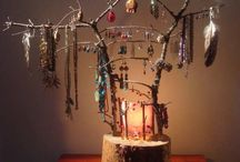 ▲ DISPLAYS ▲ / Beautiful ways of showing jewelry, clothes....