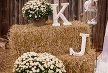 Champêtre Party ! / Une jolie fête placée sous le signe des fleurs et de la campagne !