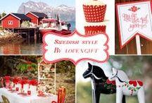 Inspiration Scandinavie: Mariage traditionnel / La déco scandinave nous fait rêver, et si on s'en inspirait pour nos mariages