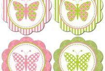 cards digi butterflies and dragonflies