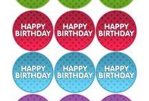 cards digi birthdays and cupcakes