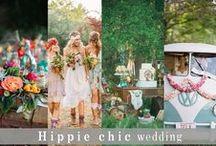 Mariage Bohémien & Hippie chic / #bohemianwedding #hippychic #hippie #mariagebohemien #fleurs #plume