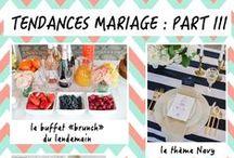 "Tendances ""mariage"""