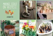 Eco friendly wedding / Oui organiser un beau mariage tout en respectant sa planète c'est possible ! #ecofriendly #wedding #mariage #ecologique